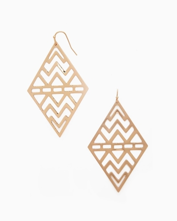 Picture of Chain Drop Earrings