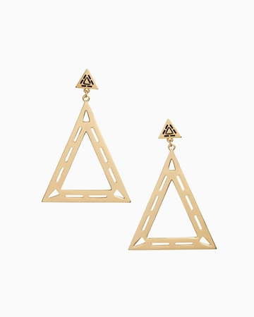 Picture of Geo-Shaped Drop Earrings