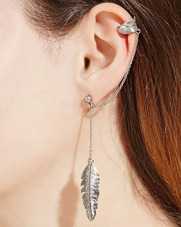 Picture of Curved Rhinestone Ear Pins