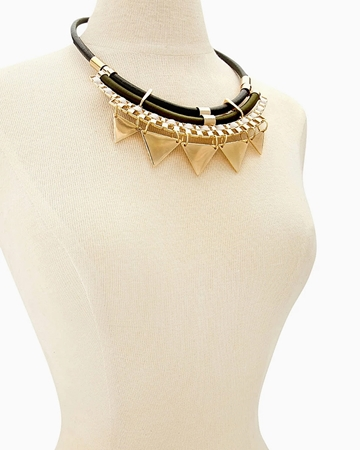 Picture of Circle Statement Necklace