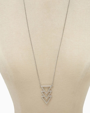 Picture of Angular Pendant Necklace